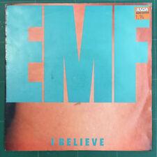 "EMF – I Believe 7"" Single Vinyl Factory – Parlophone – R 6279 1991"