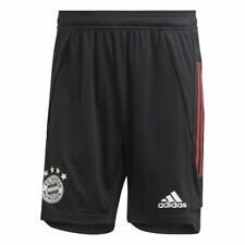 Adidas FC Bayern Munich Football Soccer Mens Training Shorts Black