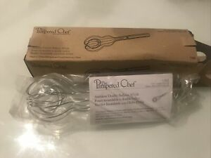 Pampered Chef Stainless Double Balloon Whisk