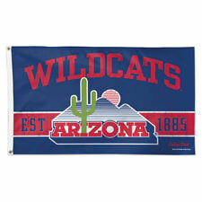 Arizona Wildcats Throwback Vintage Large Outdoor Flag