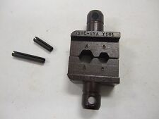 DANIELS DMC HX4 CRIMP TOOL DIE SET M22520/5-43 Y141 CRIMPER HEX DIE