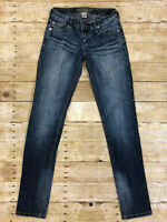 "Arizona Jean Co. Size 3 Long Juniors / Womens Jeans Waist: 26"" Inseam 33"""