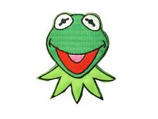 The Muppets Kermit Frog Embroidered Iron On/Sew On Patch