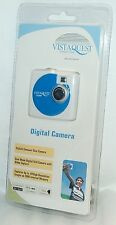 NEW VistaQuest Digital Camera BLUE Portable Travel USB Video VQ-300B spy nano