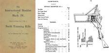 Swift Training Manual Mk IV Pattern Lee Enfield No4 Mk1 (UK)