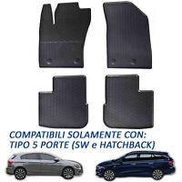 Tappetini Tappeti in Gomma su misura per Fiat Tipo 2016 in poi Hatchback e SW
