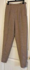 Pendleton Wool Pants Slacks Women's Petite Sz 8 Light Brown Tan Career USA