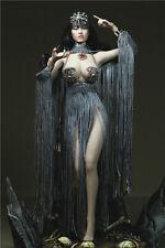 """12"""" Phicen Hot Toys Figure Clothing 1/6 Female Metal Tassel Skirt Shawl Dress"""