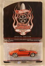 Hot Wheels 24th Convention '69 Ford Mustang ORANGE Only 2000 Made Real Riders
