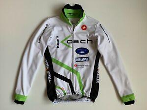 Castelli Team Koach  Wind Stopper Gore Jacket Men's Size S