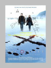 """X FILES : I WANT TO BELIEVE CAST SIGNED POSTER 12""""X8"""""""