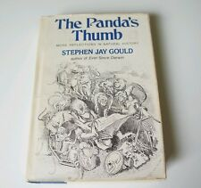 The Panda's Thumb by Stephen Jay Gould 1st Ed. 3rd Print Hardcover- Darwin View