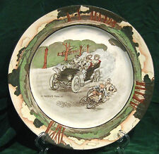 "Royal Doulton Automobile Series "" A Nerve Tonic "" Plate"