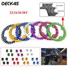104bcd-DECKAS горный велосипед велосипед раунд/овал передняя звездочка 32/34/36/38T узкий широкий с цепочкой