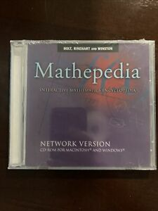 NEW Mathepedia: Interactive Mathematics Encyclopedia 📚 ~ CD-Rom