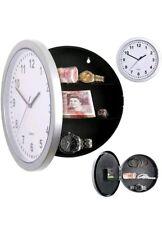 Mural Horloge secret Safe Storage Caché Armoire Argent Bijoux Stockage UK
