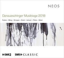 Ivan Fedele : Donaueschinger Musiktage 2018 CD 2 discs (2019) ***NEW***