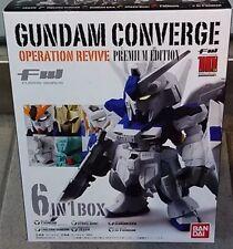 Bandai Limited FW Gundam Converge Operation Revive 6in1 Box Set Premium Edition