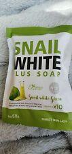 SNAIL WHITE GREEN GLUTATHIONE COLLAGEN x10 WHITENING SKIN SOAP AU SELLER