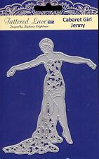 TATTERED LACE cutting Die - CABARET GIRL JENNY - Woman