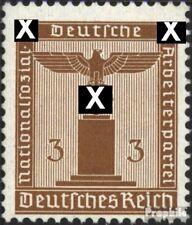 Imperio Alemán d156 nuevo 1942 sello de franqueo oficial