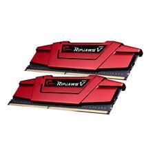 G.Skill RipJaws V rot DIMM Kit 16 GB, DDR4-3000, CL15, DDR4, RAM Speicher