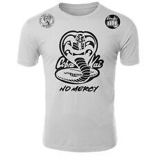 Cobra Kai No Mercy Karate kid 80's Youtube Series ufc kickass mma Shirt White
