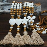 Fashion Long Tassel Pendant Necklace Turquoise Bead Charm Sweater Chain Jewelry