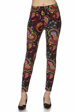 Leggings TC/110 Buttery Soft Always Brushed  Paisley ONE SIZE