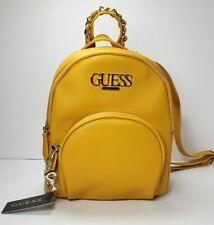Guess Handbag Purse Wallet Tote Shoulder Backpack COLOR:MUSTARD
