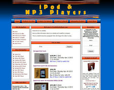 Ipod Ebay Affiliate  MP3 Store Website For Sale with Adssense, Amazon, Clickbank