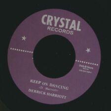 "Nuevo 7"" Derrick Harriott-seguir bailando/Bobby Ellis, Desmond Miles de siete"