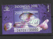 1998 MNH Indonesia Michel block 132