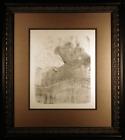 Cleo de Merode Original 1898 Lithograph by Henri de Toulouse-Lautrec Framed W258