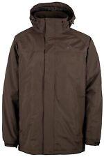 Mountainlife Mens Brown Hooded Water Resistant Padded Coat Jacket RRP £59.99 NEW