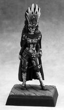 LEADER CHEF - PATHFINDER REAPER miniature rpg jdr female plate armor 60112