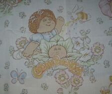 VINTAGE 1983 CABBAGE PATCH DOLLS KIDS TWIN FLAT SHEET BEDDING XAVIER ROBERTS