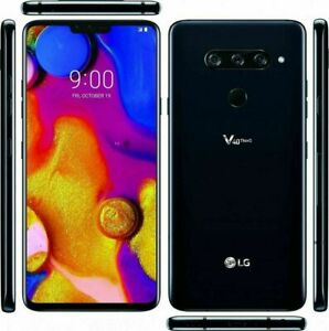 LG V40 ThinQ 64GB Sprint + Factory GSM Unlocked - LM-V405UA  Aurora Black New