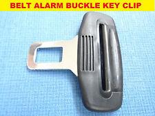 VAUXHALL ASTRA/MERIVA BLACK SEAT BELT ALARM BUCKLE KEY CLIP SAFETY CLASP STOP