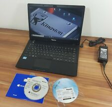 Clevo Aquado Notebook i5-3317u 4GB 120GB SSD Kingston Win10 start in wenigen Sek