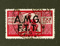 Trieste A Stamps # 45 XF USED Scott Value $45.00
