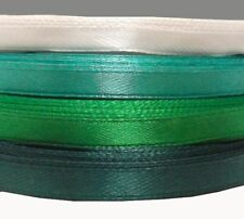 1m 2m 3m 5m 10m 20m berisfords vert joyeux noël ruban satin 10mm /& 25mm