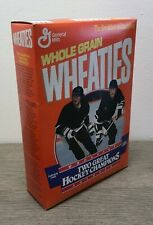 Vintage Wheaties w/ Mario Lemieux and Jaromir Jagr 18 oz Full Box Factory Sealed
