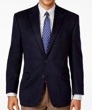 Lauren Ralph Lauren Blazer Size 36S Men Cashmere Silk Wool Suit Jacket Navy