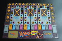 "BOARD & BOX - ""THE UNCANNY X-MEN ALERT! ADVENTURE GAME""  1992  comic  MARVEL toy"