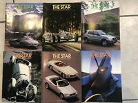 1997 The Star Magazine Mercedes-Benz Club of America Complete Year Set of 6