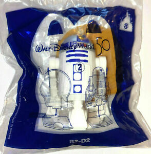 Walt Disney World 50 Star Wars R2-D2 #8 McDonald's 2021 Happy Meal Toy ** NEW **