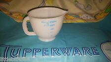 VINTAGE TUPPERWARE TUPPERTOYS MINI MIX N STORE 1 CUP MEASURING PITCHER TOY 1402