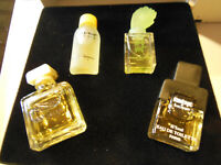 Coffret de 4 miniatures Pierre Balmain Paris Ebene, Vent Vert, Monsieur