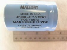 Mallory Cgr 47000 Uf 75v Electrolytic Capacitor
